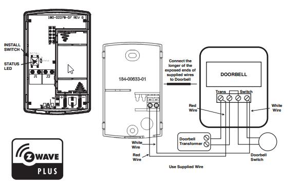 need help with nexia doorbell sensor  before i return it